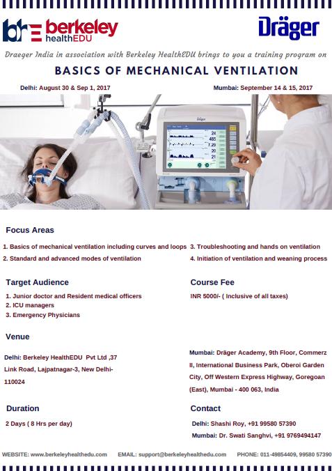Simple way to learn Mechanical Ventilation: Training Program